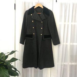 Rothschild Wool Dress Coat